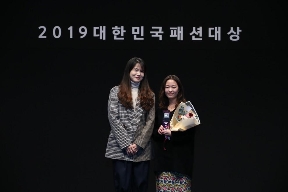 2019 대한민국패션대상_W컨셉인기상 분더캄머 1